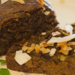 Chocolate Coconut Banana Bread with Moringa
