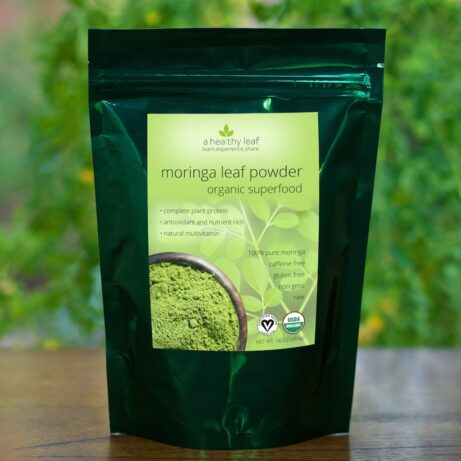 Moringa Powder: Certified Organic