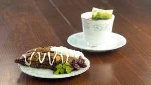 Moringa Chocolate Cherry Pistachio Biscotti