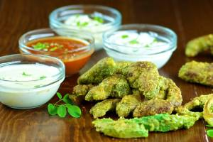 Cheesy Moringa Chicken Tenders