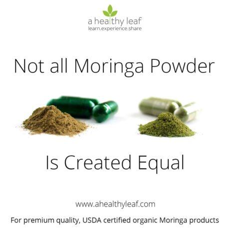 Not all Moringa powder is equal