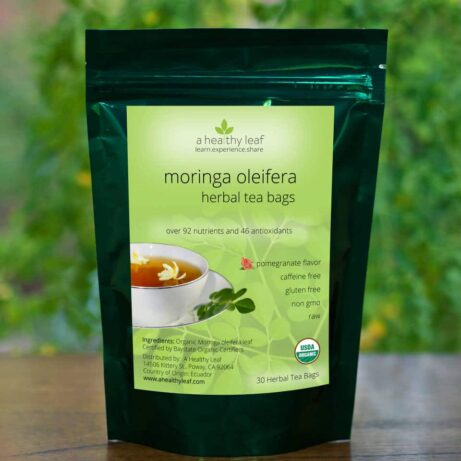 Moringa Pomegranate Tea