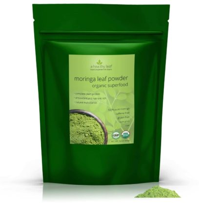 Certified Organic Moringa Powder 16oz