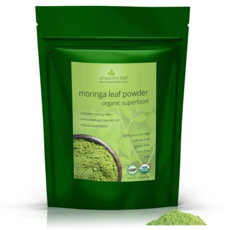 Certified Organic Moringa Powder 8oz