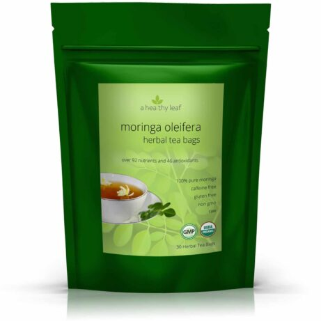 Certified Organic Moringa Tea Bags