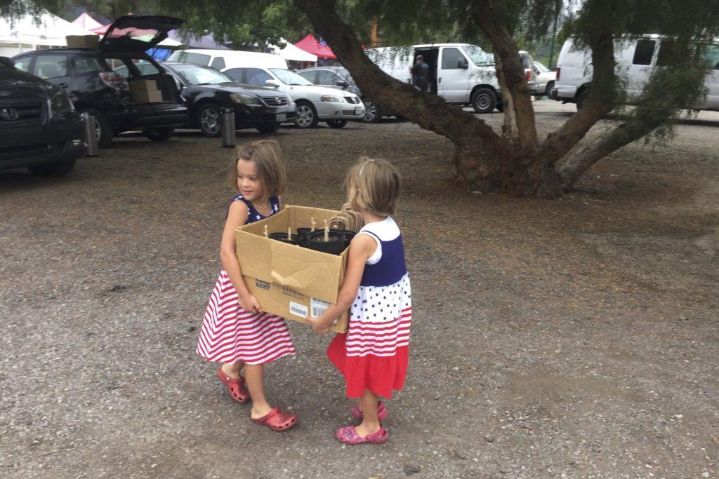 Selling Moringa At The Poway Farmers Market