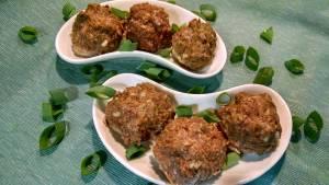 Savory Moringa Meatballs