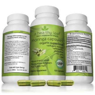 Best Moringa Capsules Made From Certified Organic Moringa
