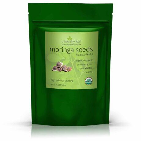 Organic PKM1 Moringa Seeds