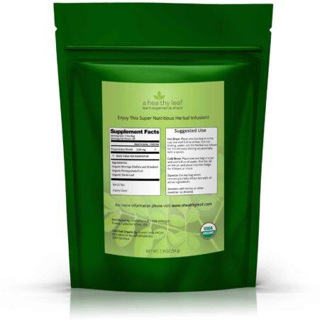 Moringa Tea: USDA Certified Organic Moringa Oleifera Leaf Tea